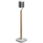 Flexson Premium Floor Stand Sonos One/Play:1 speaker mount Aluminium, Glass, Steel, Wood White