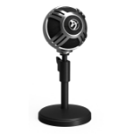 Arozzi Sfera Table microphone Black,Chrome