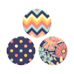 PopSockets PopMinis Fabstractions Mobile phone/Smartphone Multicolour