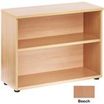Jemini Beech One Shelf 730mm Bookcase