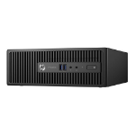 HP ProDesk 400 G3 - SFF - 1 x Core i3 6100 / 3.7 GHz - RAM 4 GB - HDD 500 GB - DVD SuperMulti - HD Grap