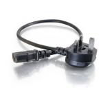 C2G 0.5m Universal Power Cord Black