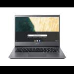 "Acer Chromebook CB714-1W-32YX Gris 35,6 cm (14"") 1920 x 1080 Pixeles 8ª generación de procesadores Intel® Core™ i3 8 GB DDR4-SDRAM 64 GB Flash Wi-Fi 5 (802.11ac) Chrome OS"