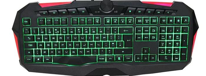 Powercool RG100 Gaming Keyboard With Macro Programmable Keys