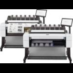 HP Designjet T2600dr 36-in PostScript Multifunction Printer large format printer Thermal inkjet Color 2400 x 1200 DPI 914 x 1219 mm Ethernet LAN