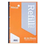 Silvine REFILL PAD A4 80LF FM SIDE BOUND A4SRP