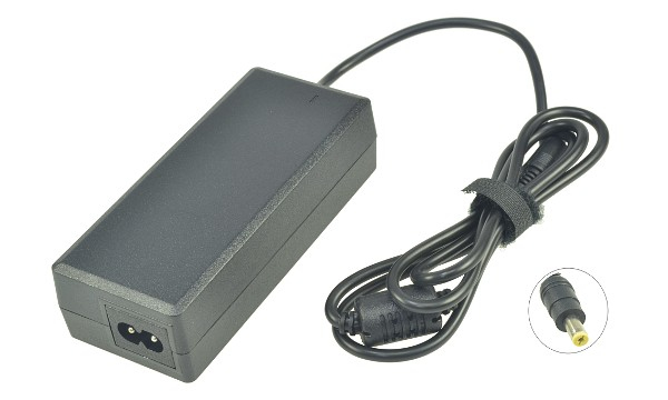 2-Power 2P-AP.09003.005 power adapter/inverter Indoor 90 W Black