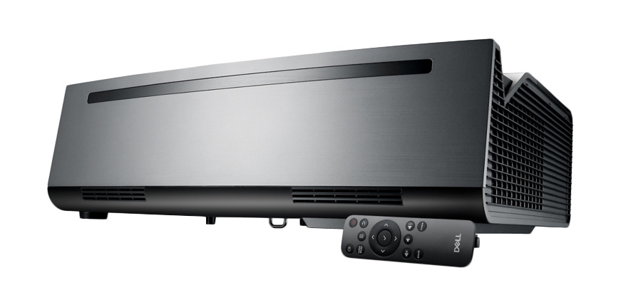DELL S2718QL data projector 5000 ANSI lumens 2160p (3840x2160) Desktop projector Black,Grey