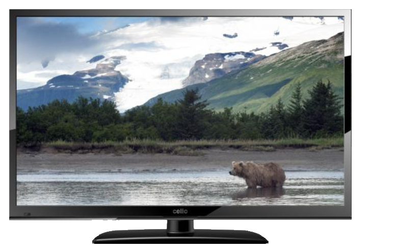 "Cello C24230F 24"" HD Black LED TV"