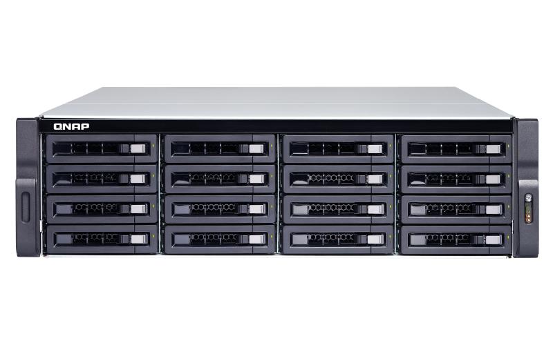 QNAP TVS-1672XU-RP Ethernet LAN Rack 3U Black NAS