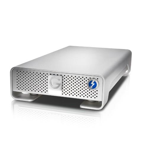 G-Technology G-DRIVE Thunderbolt USB 3.0 6000 GB External Hard Drive - Silver
