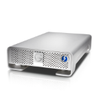 G-Technology G-DRIVE 6000GB Silver external hard drive