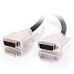 C2G 5m DVI-I M/M Dual Link Cable DVI cable Black