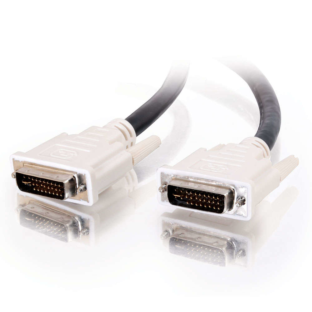 C2G 5m DVI-I M/M Dual Link Cable cable DVI Negro