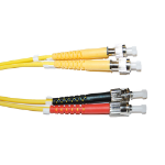 Videk ST - FC/PC 1m FC/PC ST OS1 Yellow fiber optic cable
