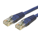 StarTech.com 25 ft Cat 6 Blue Molded RJ45 UTP Gigabit Cat6 Patch Cable - 25ft Patch Cord