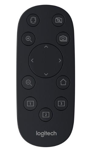 Logitech PTZ Pro 2 remote control RF Wireless Webcam Press buttons