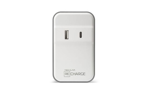 Techlink 527087 mobile device charger Indoor White