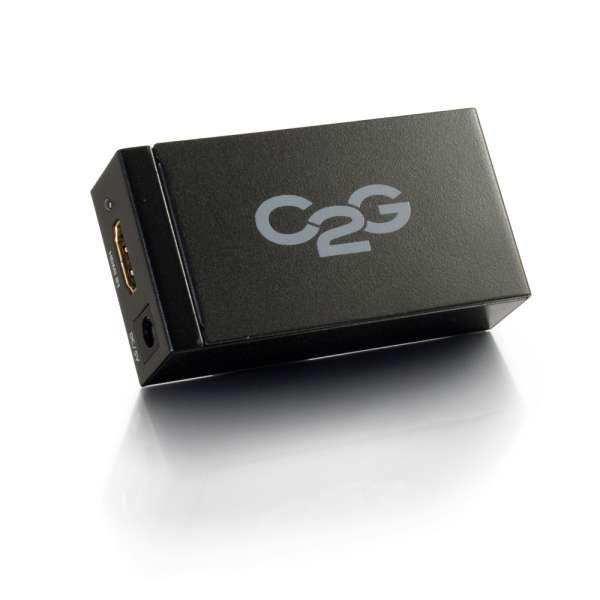 C2G 81698 adaptador de cable HDMI DisplayPort Negro