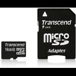 Transcend 16GB microSDHC Class 10 UHS-I 16GB MicroSDHC Class 10 memory card