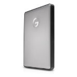 G-Technology G-DRIVE Mobile USB-C external hard drive 1000 GB Grey
