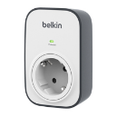 Belkin BSV103VF 1AC outlet(s) Black,White surge protector