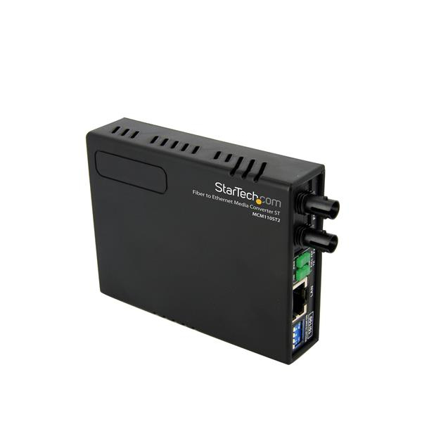 Ethernet To Multi Mode Fiber Media Converter 10/100 St 2 Km