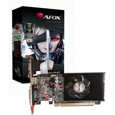 AFOX GeForce GT210 1GB 64bit DDR3 Low Profile Single Fan PCI-E Graphics Card