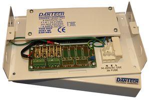 Dantech 4x1.0A 12vDC PSU FUSED