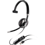 Plantronics Blackwire C710-M Monaural Head-band Black headset