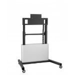 """Vogel's PFTE 7111 85"""" Portable flat panel floor stand Silver"""