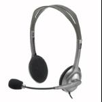 Logitech H110 Plata auricular con micrófono dir