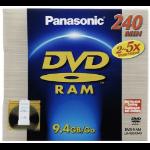 Panasonic 9.4GB 2-5x DVD-RAM 9.4GB DVD-RAM 3pcs
