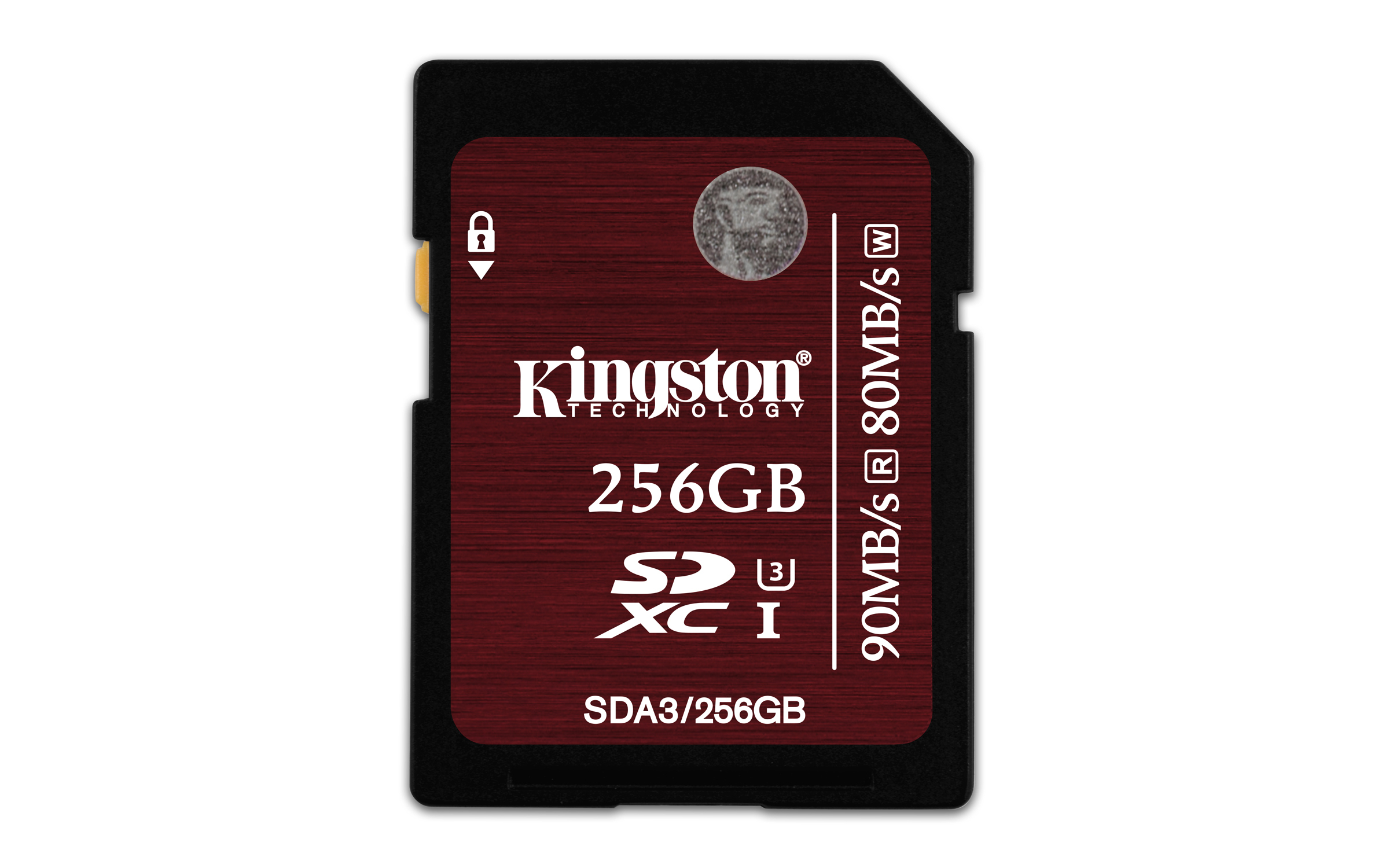 Kingston Technology SDXC UHS-I U3 (SDA3) 256GB 256GB SDXC UHS Class 3 memory card