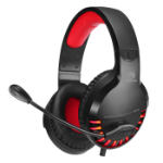 Marvo HG8932 headphones/headset Head-band 3.5 mm connector USB Type-A Black, Red