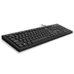 V7 KU100 USB QWERTZ German Black keyboard