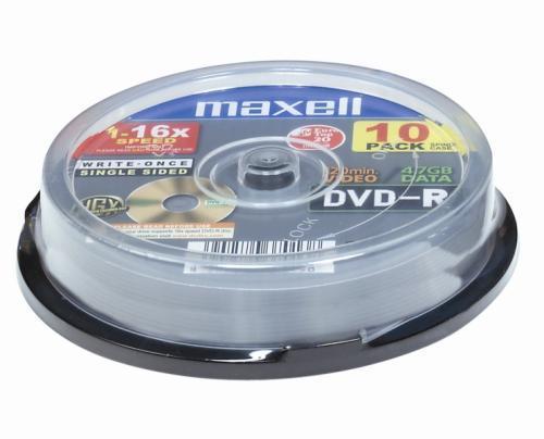 Maxell DVD-R 4,7GB 16X 10-Pack 4.7 GB 10 pc(s)