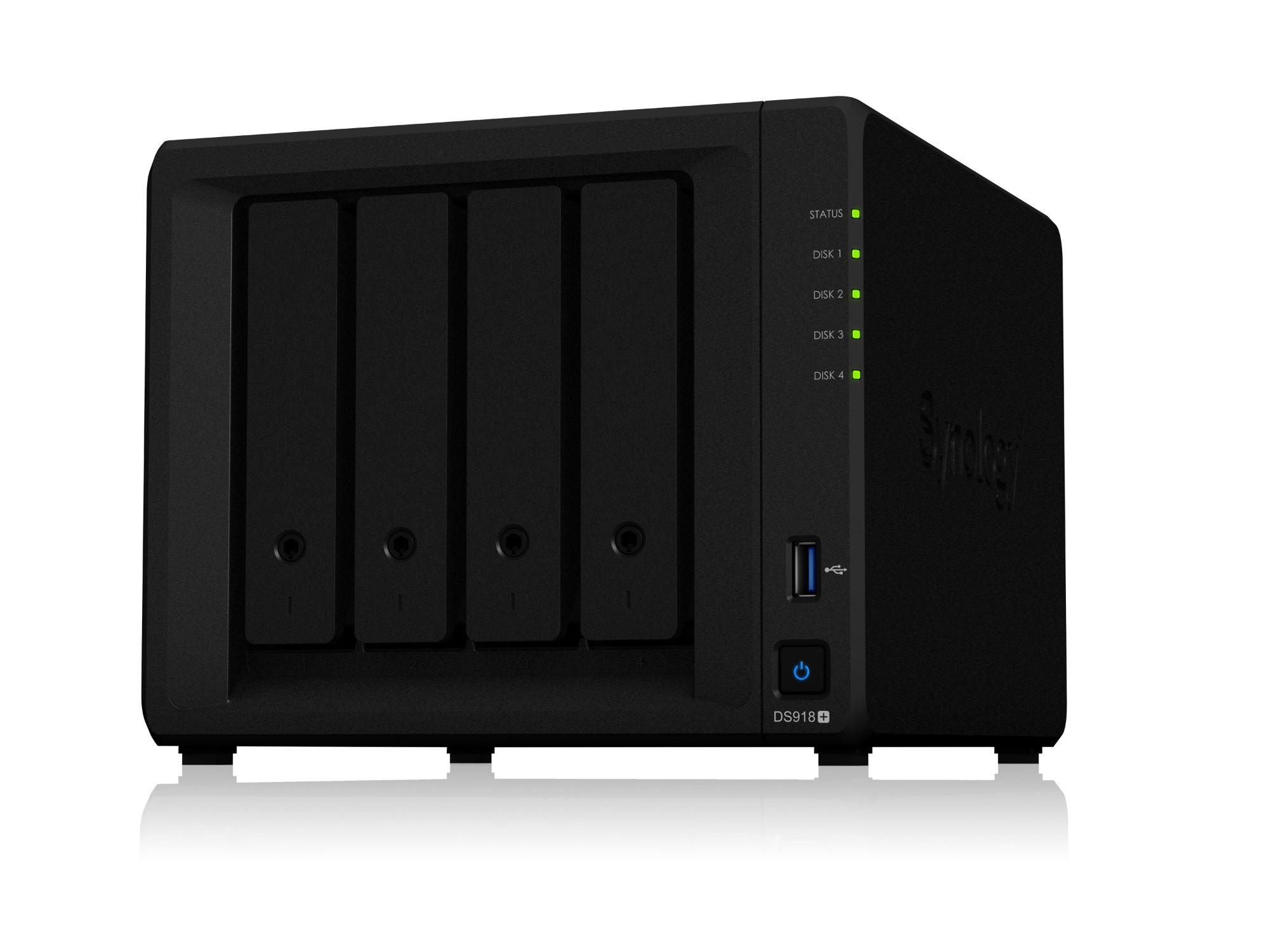 Synology DS918+/4TB-860EVO 4 Bay NAS