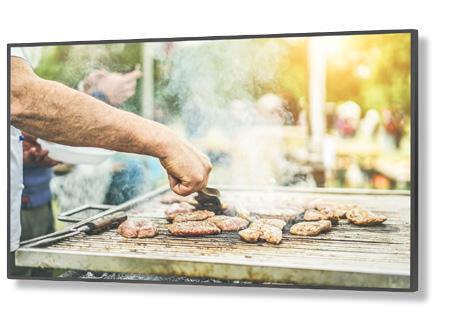 "NEC C series C431 109,2 cm (43"") LED Full HD Pantalla plana para señalización digital Negro"