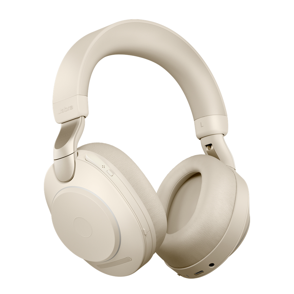 Jabra Evolve2 85, UC Stereo Headset Head-band Beige