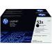 HP Q7553XD (53XD) Toner black, 7K pages, Pack qty 2