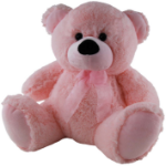ELKA SOFT TOY ELKA 40CM BEAR JELLY BABY GIRL PINK ( EACH )