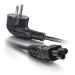C2G Cable de alimentación europeo de 3 m para portátil (CEE 7/7 a IEC 60320 C5)