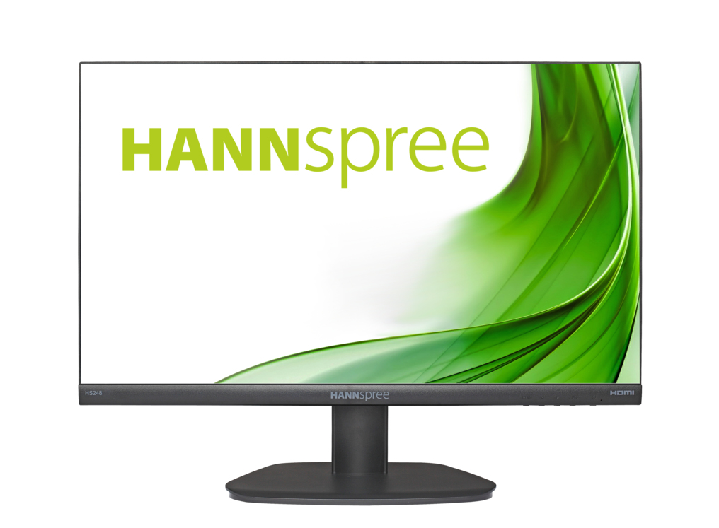 "Hannspree HS 248 PPB LED display 60.5 cm (23.8"") Full HD Flat Black"