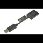 2-Power ALT8533A video cable adapter DisplayPort VGA (D-Sub) Black