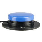 AbleNet 100SPBL push-button panel Black, Blue