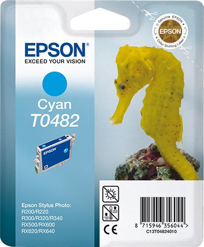 Epson Seahorse inktpatroon Cyan T0482