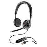 Plantronics Blackwire C520-M Binaural Head-band Black headset