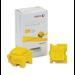 Xerox ColorQube 8700/8900 Tinta sólida amarilla (2 barras, imprime 4200 páginas)