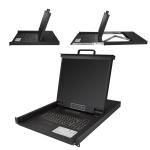 StarTech.com Consola para Armario Rack con KVM de 16 Puertos VGA y Pantalla de 19 Pulgadas - 1U